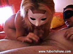 Amatöör Ilusad Suured Naised Brünetid Paar Itaalia