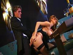 The classy italian milf has great sex