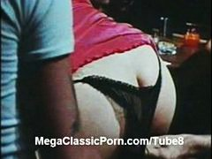 Klassikaline Hardcore Pornostaar Retro Vintage
