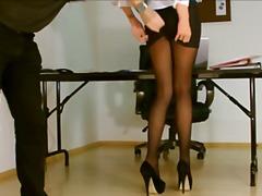 Чорапогащи Секретарки Воайор