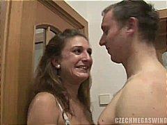 Czech amateur couples at mega swingers