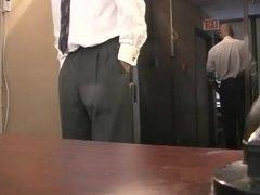 აზიელი პატრონი ოფისი მდივანი