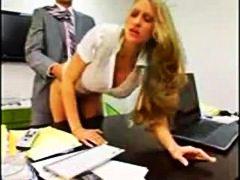 Хардкор Канцеларија Секретарка Избричена Доги стил