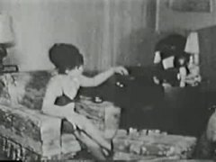 Karvane Vintage Naine Lesbi