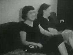 Karvane Vintage Lesbi Voodi