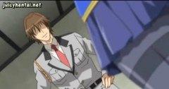Anime Store Bryster Blond Avsugning, Suge Tegnefilm