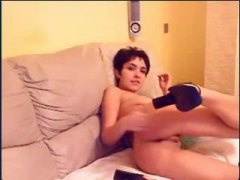 Skinny mature webcam slut pussy rubbing