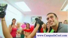 חובבניות מכללה מסיבה ציבורי צעירות