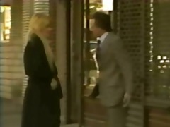Vintage hardcore and lesbian action with a sexy blonde babe and her hairy twat