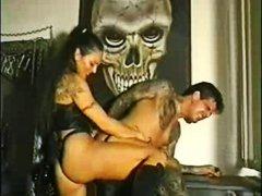 Женска доминација Машко Грубо Дилдо со колан