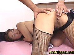 Amateur Asien Babe Nylons Orgie