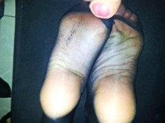 פטיש כפות רגליים צרפתיות נילון פטיש כפות רגליים