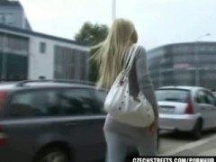 Baguhan Blonde Tsupa Czech Pinutukan Sa Mukha