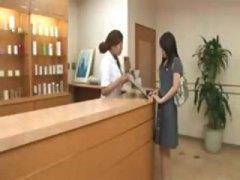 Japanese girl  massaged 1