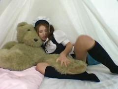 აზიელი გოგო ბანჯგვლიანი სექსაობა