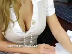 Amazing office fuck