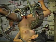 3D Hentai Vruće Žene Animacija