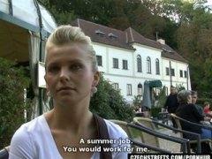 Baguhan Puwetan Blonde Tsupa Czech