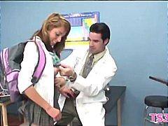 Suhuvõtmine Hardcore Teismeline Kool Munn