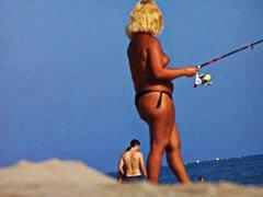 חובבניות חוף בחורה צעירות