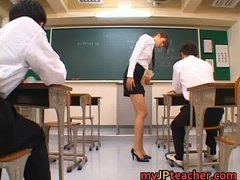 Junna aoki hot japanese teacher part2