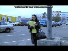 Amatöör Aasia Tagumik Suhuvõtmine Auto