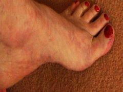 גרבונים זכר פטיש כפות רגליים