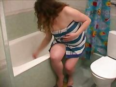 מלאות שמנות פוסי מקלחת אקסית