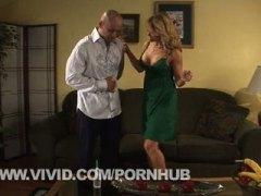 Blond Sex sofaen Cougar Sexy mødre (milf) Oralsex