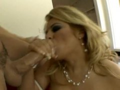 Curvy girl is glamorous and fucked hard
