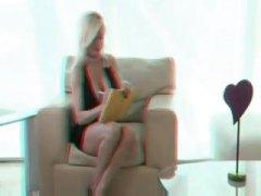 3D Vruće Žene Plavuša Majka Koji Bih Rado Velike Sise