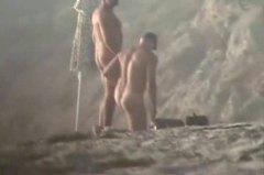 Na Plaży Nagość Mężczyźni Koleś