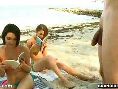 חובבניות חוף מוזר מציצות אוראלי