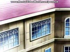אנימציה ברונטיות מצוירים הנטאי עוזרת בית
