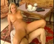 Lots of anal fucking with a blonde italian girl