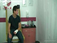 دهنی لاغرمردنی پزشک همجنس باز پسر