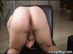 Chad macon jerking his cute college cock part5