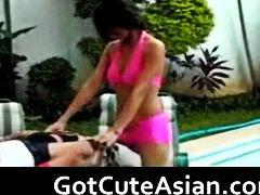 Аматери Азиски Масивно свршување Јапонско Сопруга