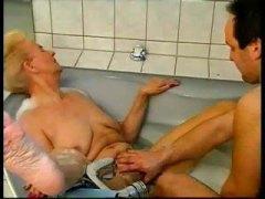 Blondynki Fellatio Wytrysk Niemcy Babcia