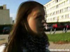Amatör Brunett Tjeckiska Tonåringar