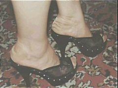 חובבניות פטיש כפות רגליים גרבונים פטיש כפות רגליים