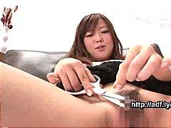 Азиски Убава Девојче Јапонско Мастурбација