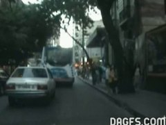 Taxi ride fuck in argentina