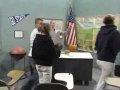 Hot asian exchange student tia tanaka fucked in classroom