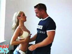 Amateur Blond Blowjob Tschechien Teen