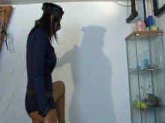 אנאלי פטיש במשרד קוקסינליות גמירה על הפנים