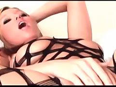 Blondid Rinnakas Kontsad Masturbeerimine Orgasm