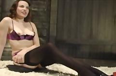Fetish Masturbação Nylon Piercings Sozinhas