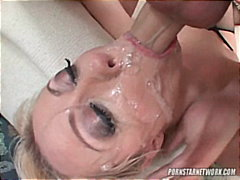Blondes Pipes Orgasme Couettes Jeune Fille