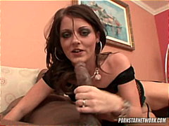 Sophie dee gets ass fucked before swallowing sperm